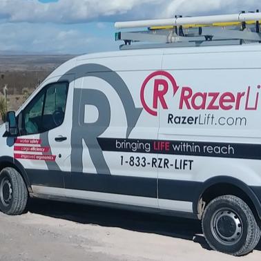 RazerLift Van Decals
